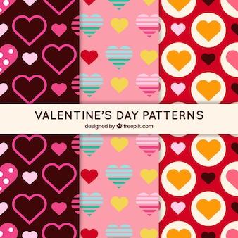 バレンタインデーパターン