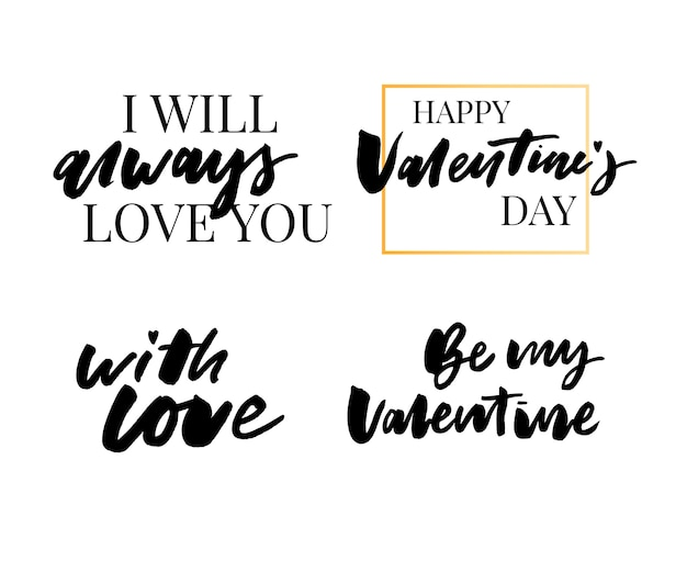 Valentine's day quote collection