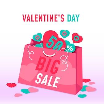 발렌타인 데이 판매 그림