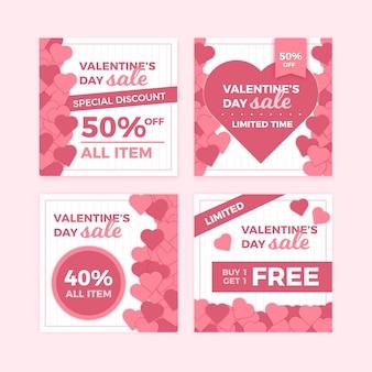 День святого валентина продажа instagram пост набор