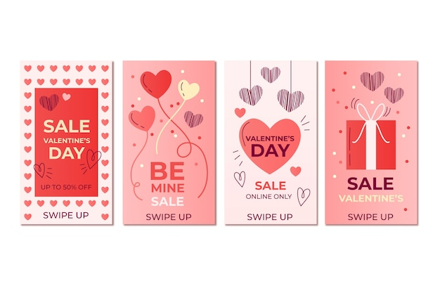Valentine's day sale stories collection