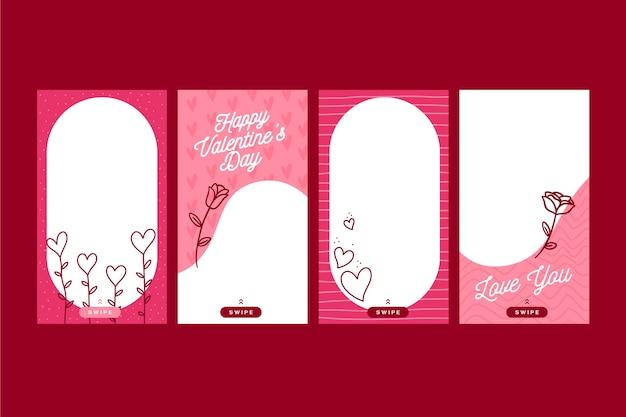 Valentine's day sale story set