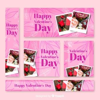 Valentine's day sale web banner