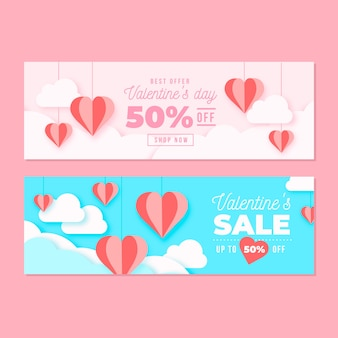 Valentine's day sale with 50% off