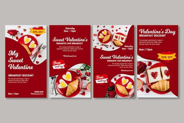 Valentine's day sales instagram stories