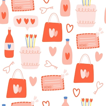 발렌타인 데이 완벽 한 패턴입니다.