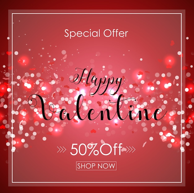 Valentine's day special offer