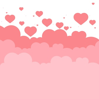 Valentine's day vector design concept