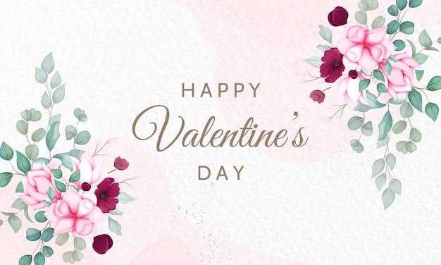 San valentino con bellissimi fiori