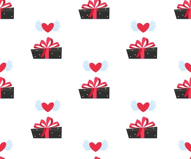 Валентина любовь подарочная коробка бесшовные модели.