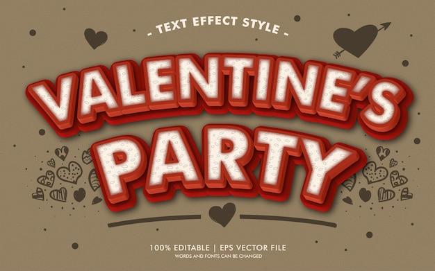 Текст валентина вечеринки