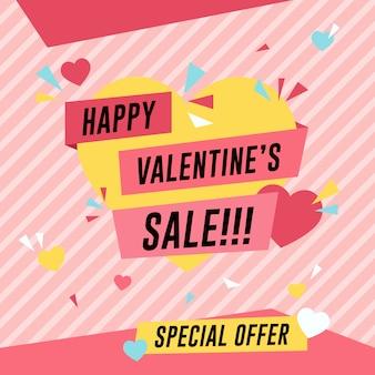 Valentine sale poster