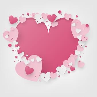Valentine scene background