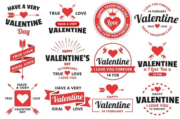 Valentine template banner