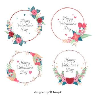 Valentine wreath collection