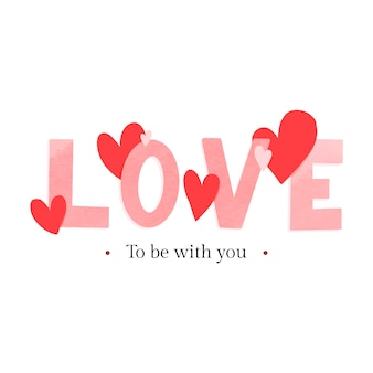 발렌타인 데이 카드 디자인