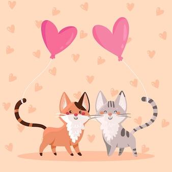 Валентина пара животных