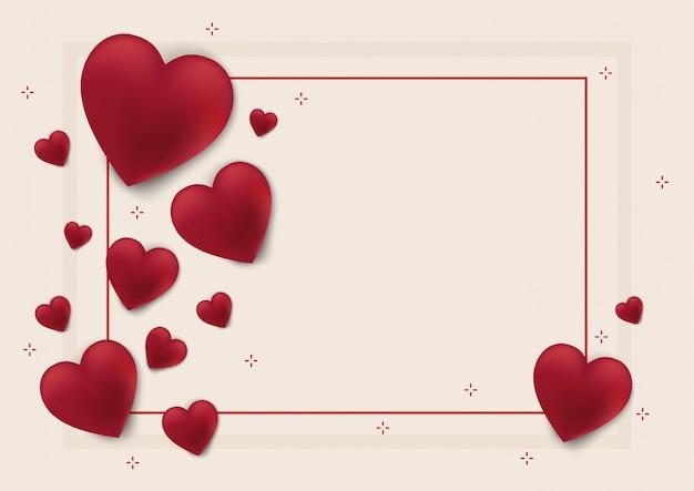 발렌타인 데이 배경과 사랑의 마음