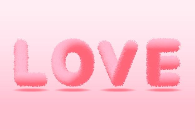 День святого валентина фон. любовная надпись