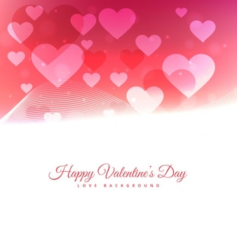 떠있는 마음으로 발렌타인 데이 배경