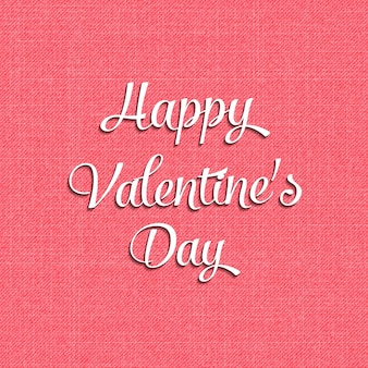 기하학적 하트 일러스트와 함께 휴가 템플릿에 대 한 발렌타인 데이 카드. 창의적이고 고급스러운 스타일 패턴