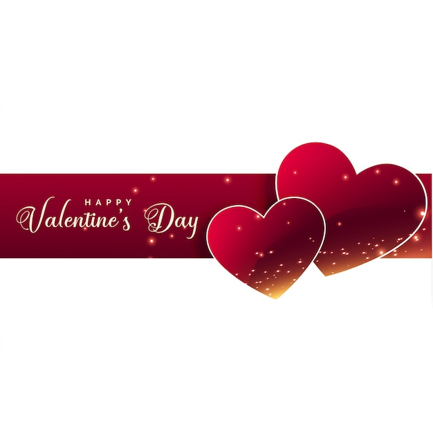 Valentines day celebration hearts background
