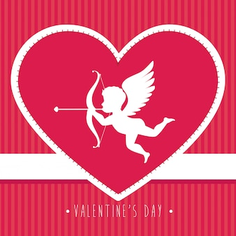 Valentines day design , vector illustration.