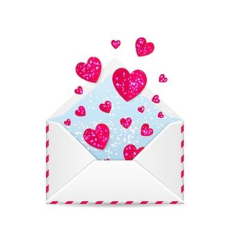 バレンタインデーの封筒