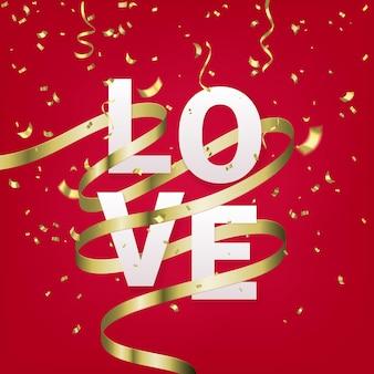 Шаблон поздравительной открытки дня святого валентина.