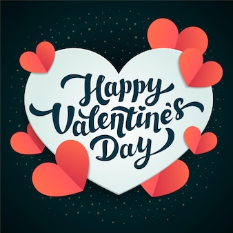 Valentines day greeting.