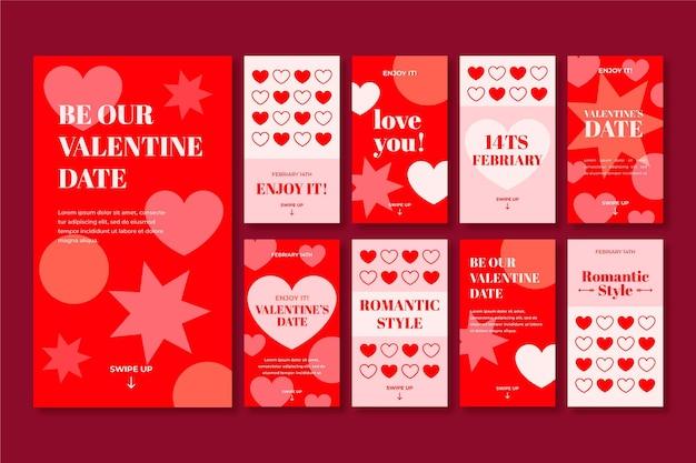 Valentines day instagram stories collection