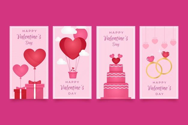 Valentines day sales online concept
