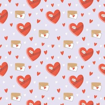 발렌타인 데이 완벽 한 패턴