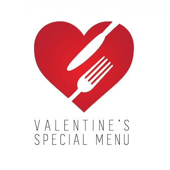 Valentines day special menu