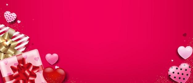 2つのギフトボックスでバレンタインデー