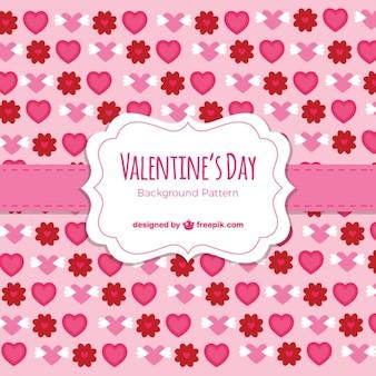 Valetines日要素の背景