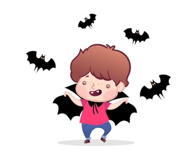 Vamp boy halloween