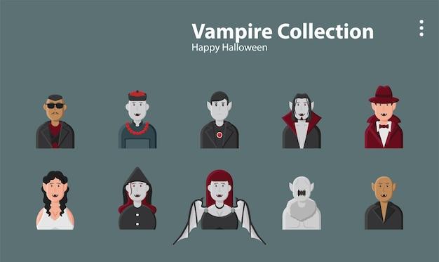 吸血鬼ドラキュラ邪悪なファンタジーハロウィーンゴシックハンターモンスターイラスト背景キャラクター