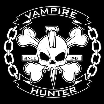 Vampire Hunter Badge