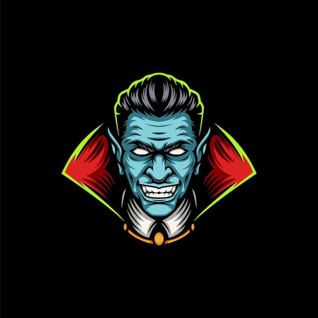 Vampire mascot design