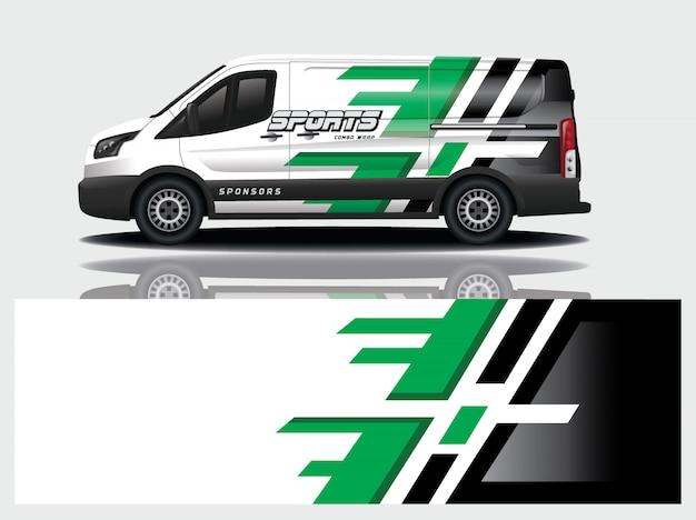 Van decal wrap design