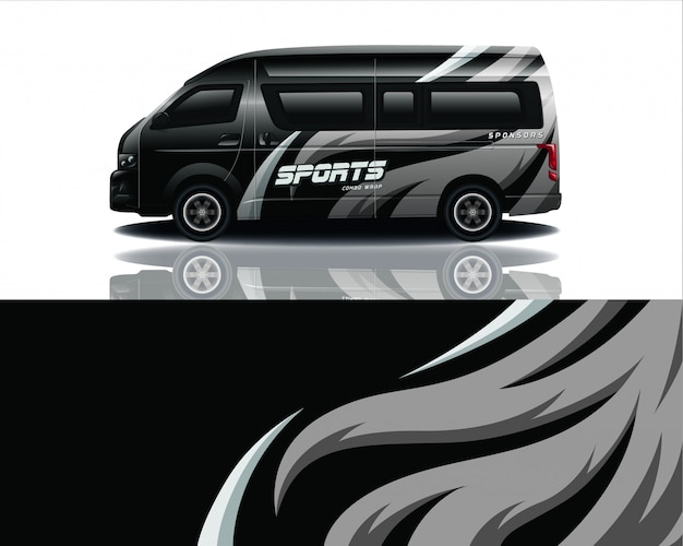 Van decal wrap