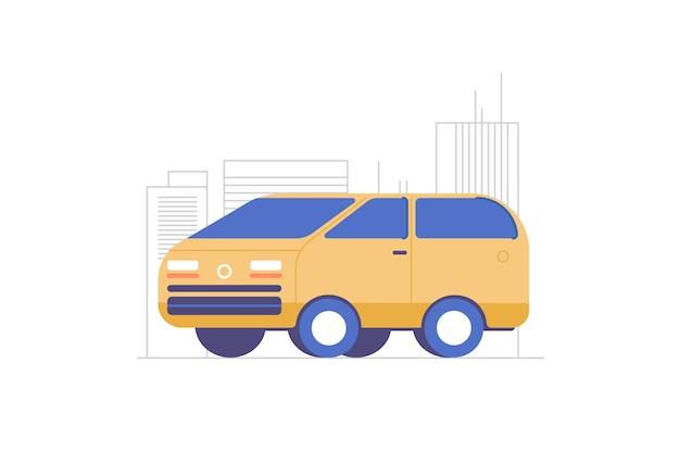 Van illustration