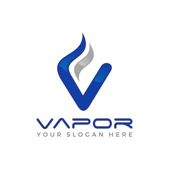Vapor logo vector