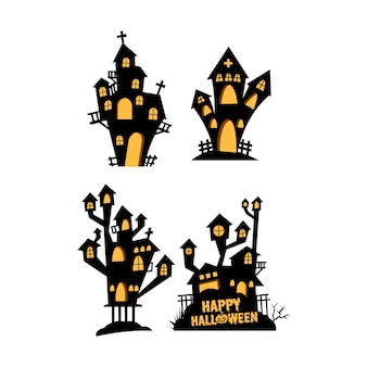 Variation of scary castle