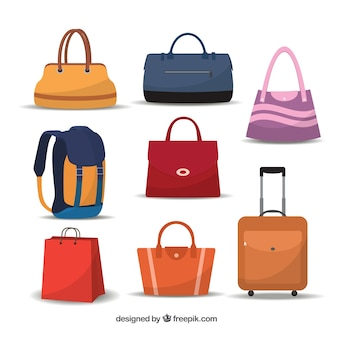 Variety of bags