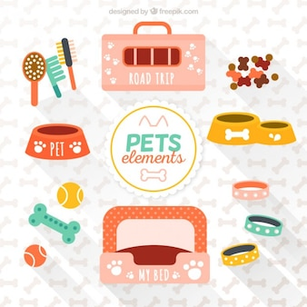 Разнообразие элементов домашних животных