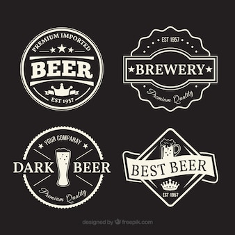 Variety of fantastic beer labels