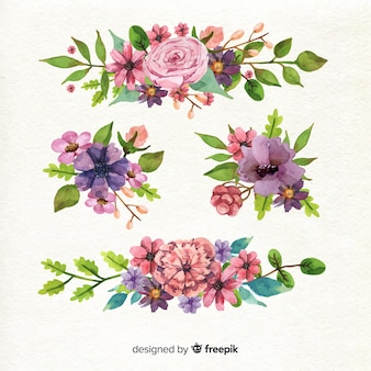 Variety of models for flora bouquet design