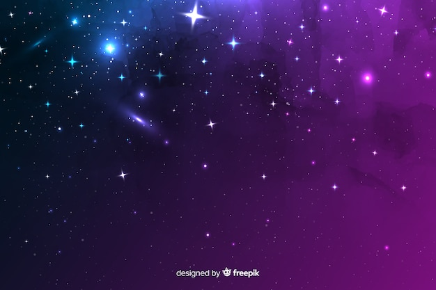 夜背景の宇宙要素の多様性